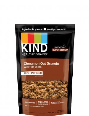 Kind Healthy Grains Clusters with Flax Seeds Gluten Free Cinnamo