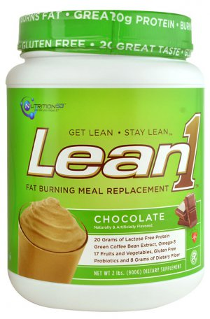 Nutrition 53 Lean1? Fat Burning Meal Replacement Chocolate -- 2